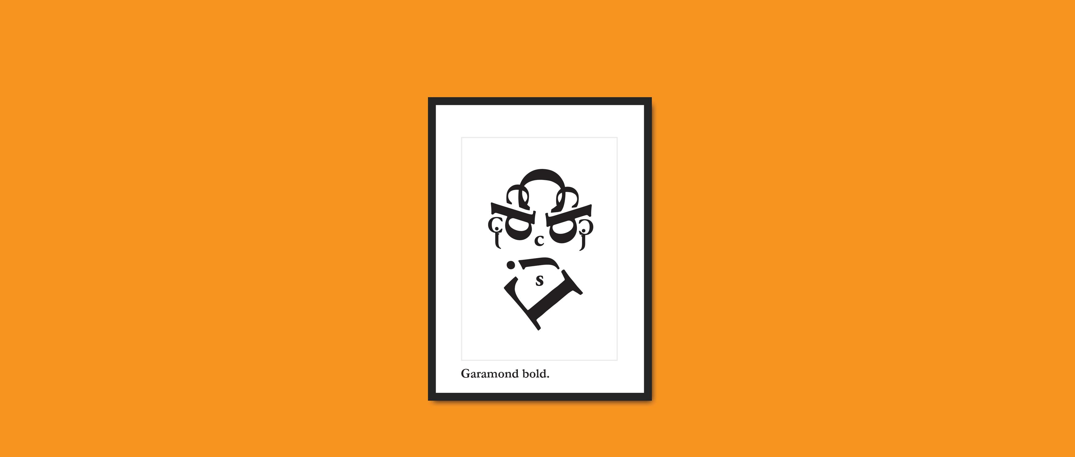 Garamond-bold - Chemical Code Limited